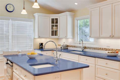 blue countertops kitchen ideas quicua com