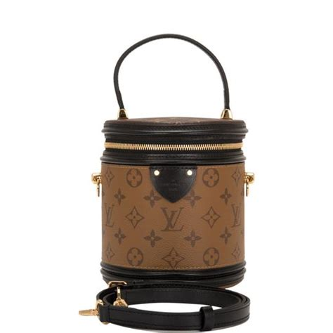 louis vuitton reverse monogram brown coated canvas