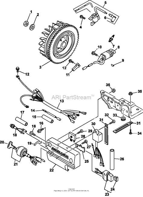 Kohler 10 Hp Wiring Diagram by Kohler Cs10 931619 Miller Electric 10 Hp 7 46 Kw Parts