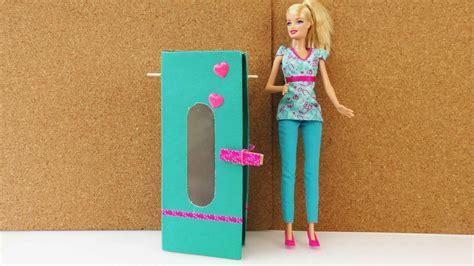 barbie kleiderschrank schrank einfach selber machen