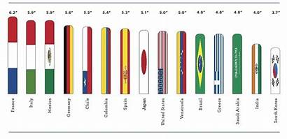 Penis Average American National Length Chart Sizes