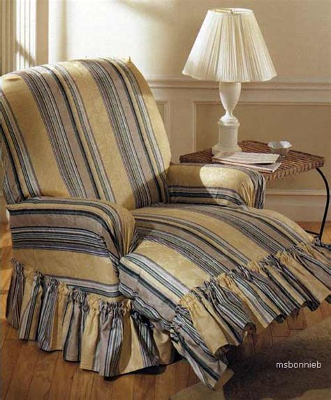 Loveseat Slipcover Pattern by Sofa Chair Recliner Covers Slipcovers Pillow Pattern Ebay