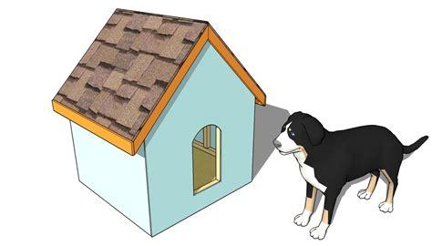 insulated dog house plans myoutdoorplans