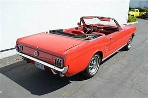 1965 Ford Mustang Convertible V8 Gorgeous Red On Red Power Top Red Convertible for sale: photos ...
