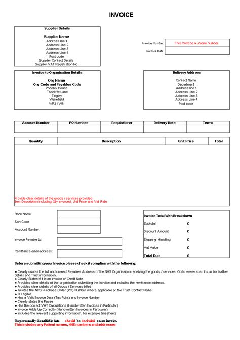 invoice  delivery order excel form templates