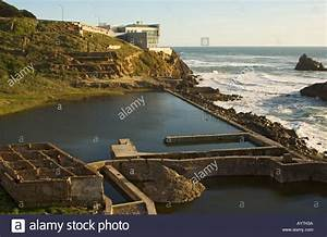 California San Francisco Cliff House restaurant ruins of ...