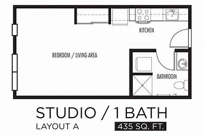 Floor Apartment Studio Plans Apartments Layout Bedroom