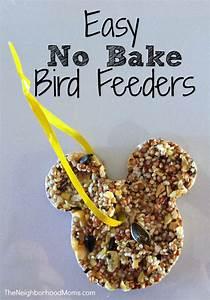 Easy Bird Feeders For Kids Easy No Bake Bird Feeders The