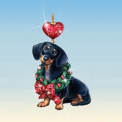 dachshund christmas ornaments your 1st one is free the danbury mint