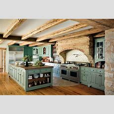 Primitive Colonialinspired Kitchen  Oldhouse Online