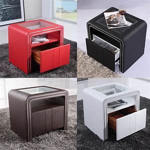 Table Chevet Design : chevet table de nuit design s85 paolo collaner ~ Teatrodelosmanantiales.com Idées de Décoration