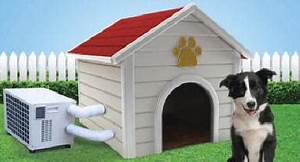 dog house air conditioner free ship no tax With portable air conditioned dog kennel
