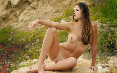 Wallpaper Blonde Outdoor Pussy Breast Young Sexy