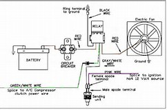 electric fan wiring diagram relay electric gallery dual electric fan relay wiring diagram niegcom online on electric fan wiring diagram