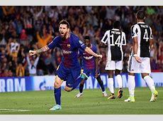 Champions League 20172018 Barcelona 30 Juventus, Player