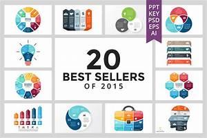 20 Best Sellers Of 2015 Keynote Templates Creative Market