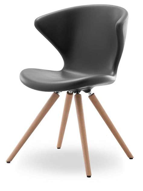sedie manzano outlet concept w designer stuhl tonon aus holz und polyurethan