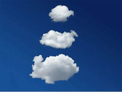 Clouds Giphy Sky Gifs Cloud Animated Moving