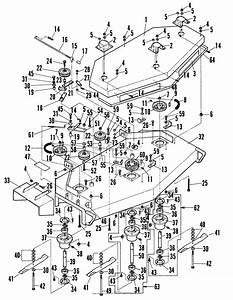 Snapper W481252kw 48 U0026quot  12 5 Hp Variable Belt Drive Walk Mower Series 2 Parts Diagram For 48