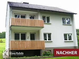 Balkonverkleidung Aus Holz : klaus rohde balkonverkleidungen ~ Lizthompson.info Haus und Dekorationen