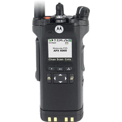 APX 6000 VHF Model 2.5 Portable Radio - P25 - Portable ...