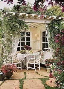 Garten überdachung Holz : vintage patio ideen f r terrassen berdachung aus holz deco garten berdachung terrasse und ~ Yasmunasinghe.com Haus und Dekorationen