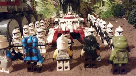 Star Wars The Clone War Story Chapter Two Lego Star Wars