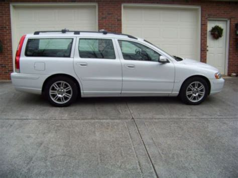 Volvo V70 Wagon For Sale by Purchase Used Clean 2007 Volvo V70 2 4 Wagon 4 Door 2 4l