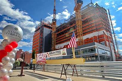 Flushing Commons Queens Ny Project Phase Buildings