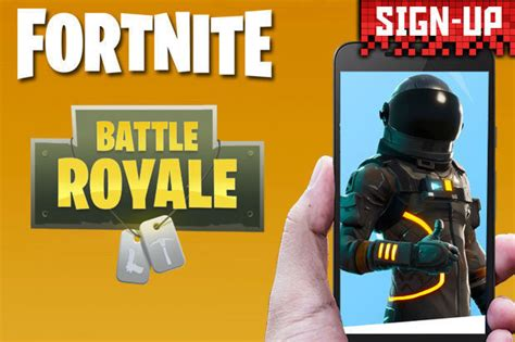 fortnite mobile   sign   ios android