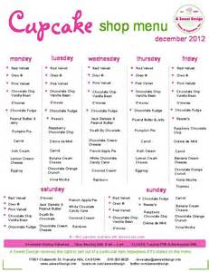 wedding cakes and prices december cupcake shop menu a sweet design