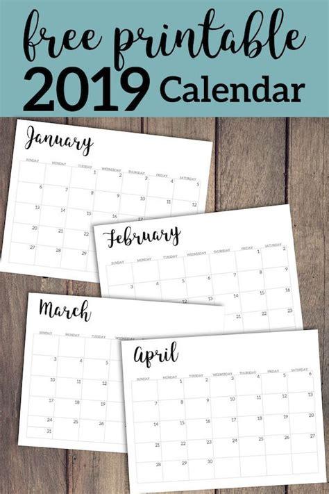 calendar printable  template  calendar
