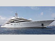 Russian billionaire's bond villain £300m yacht that comes