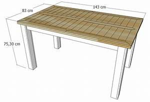 Table En Palette : diy table de salle manger en palette le blog de b a ~ Melissatoandfro.com Idées de Décoration