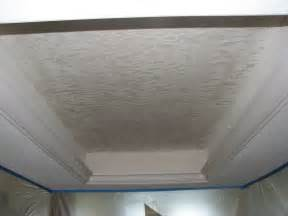 Removing Painted Popcorn Ceiling Texture