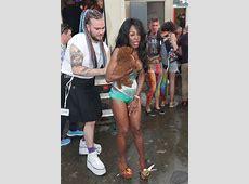 Sinitta risks serious wardrobe malfunction at London Pride