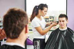 Man Hair Washing In Hairdressing Salon Royalty Free Stock ...