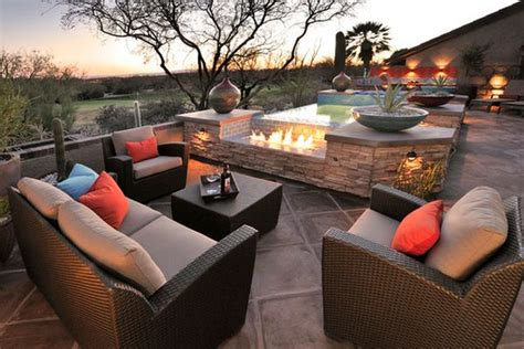 gorgeous patio furniture on a budget home decor ideas eye catching modern outdoor fireplaces turn the patio