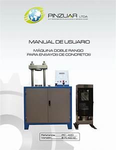 Ref Pc 42d Manual M U00e1quina Doble Rango Para Ensayos De
