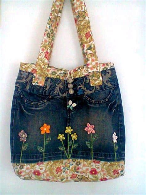 bag   jeans simple craft ideas