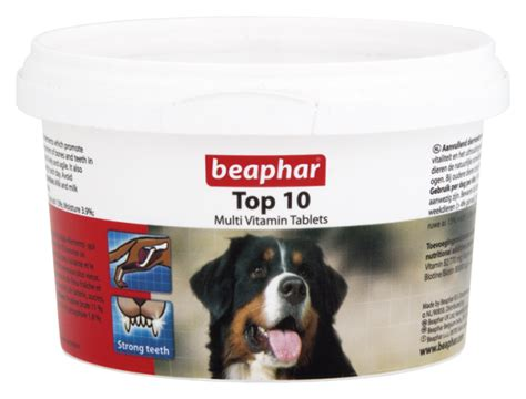 beaphar top  tablets  dog supplement  vitamins