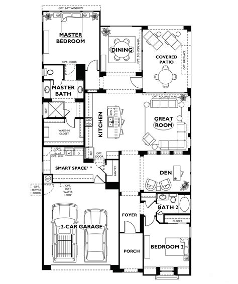floor plan designs for homes model trilogy at vistancia floor plan model home shea