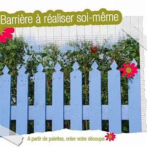Barriere Pour Jardin : fabriquer un barri re de jardin voir ~ Preciouscoupons.com Idées de Décoration