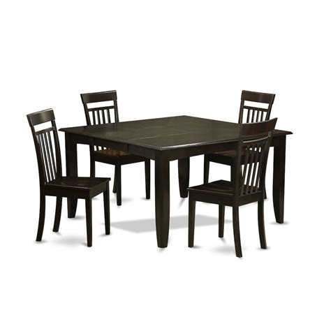 Dinette Table With Leaf by 5 Pc Dining Room Set Dinette Table With Leaf And 4 Dinette