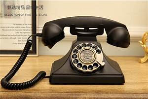 1929 Metal Swivel Plate Dial Old Telephone Rotating
