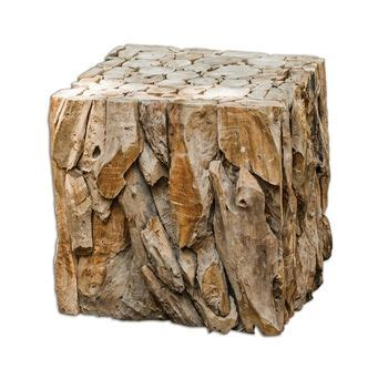ember teak root  table  roughing   style