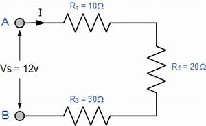 resistors in series series connected resistors With total is 7 ohms 2 the total resistance of a series circuit is equal to