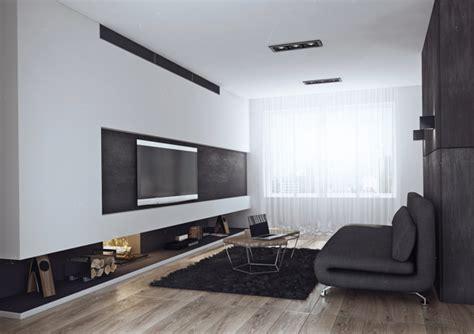 minimalist design living  style   bachelor