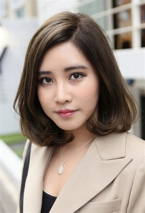 short japanese haircut  office ladies hairstyles weekly