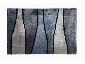 Tapis Grande Taille : tapis 160x230 cm onda coloris gris vente de tapis moyenne et grande taille conforama ~ Teatrodelosmanantiales.com Idées de Décoration